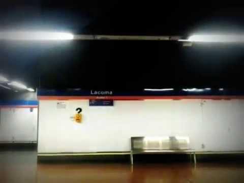 Metro de Madrid (L7) Lacoma - Avenida de la Ilustración