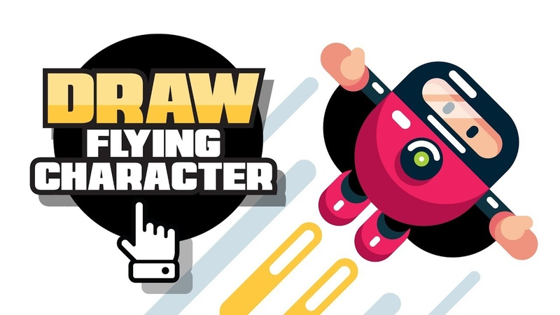Video Game Character Design - Flat Design Creation - Adobe Illustrator Speed Drawing Tutorial