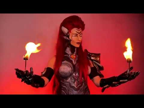 Darksiders III ASMR Relaxation techniques with Fury Fire