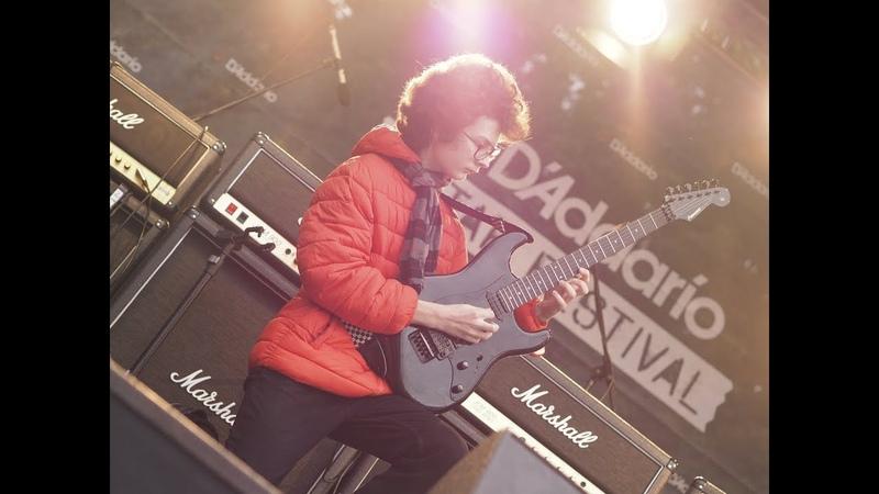 Max Ostro (D'Addario Guitar Festival 2018, Moscow)