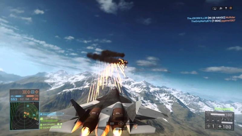 Battlefield 4™PAK-FA Gameplay