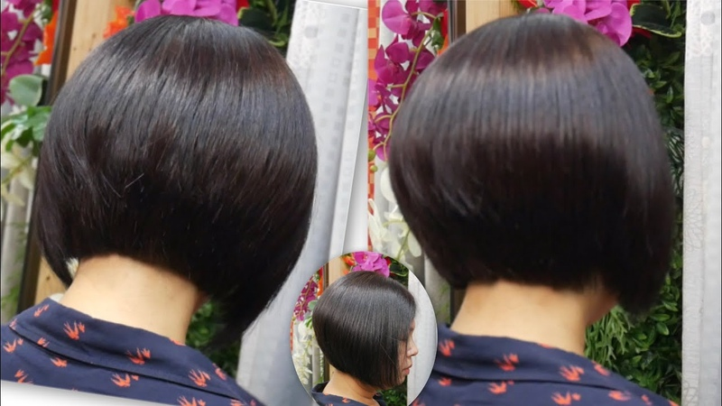 Short Bob haircut style Korea 14 ตัดผมบ็อบสั้น สไตล์ เกาหลี