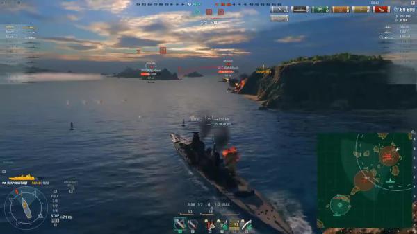 World of Warships - Сливы, скандалы и подарок в 0.8.3