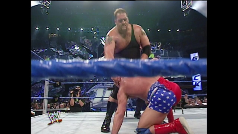 Kurt Angle Vs Big Show - Falls Count Anywhere Street Fight Match - SmackDown 21.08.2003