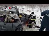 Страшная авария на трассе Р-22