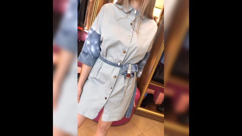 . New New New 🦋💕 Шикарное джинсовое платье RAW 💎💎💎 Очень красивое🤩 Размеры s m l xl . Все про-во Турция 🇹🇷