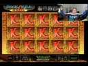 HUGE WINS on Book of Ra magic from 700€ to Casino Games session