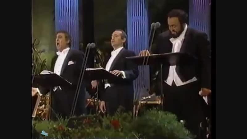 O Sole Mio - Carreras - Domingo - Pavarotti - Los Angeles 1994