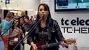 VoiceLive 3 funk demo with Selena Evangeline NAMM 2015