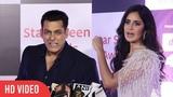 Katrina Kaif and Salman Khan at Star Screen Awards 2018 StarPlus