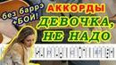 Девочка Аккорды ♪ Армейские песни 🎸 Разбор на гитаре ♫ Бой Текст