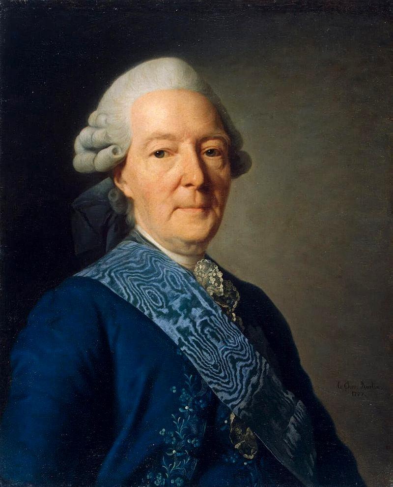 Портрет Ивана Ивановича Бецкого, Александр Рослин, 1777.