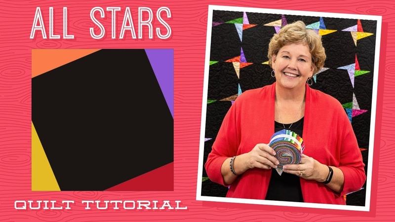 Make an All Stars Quilt with Jenny Doan of Missouri Star (Video Tutorial)