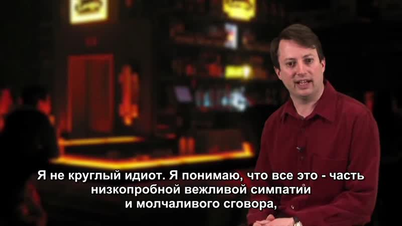 David Mitchells SoapBox Compliments [Русские субтитры]