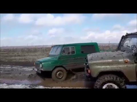 ЛуАЗ на стоке обошел подготовленный УАЗ и Duster