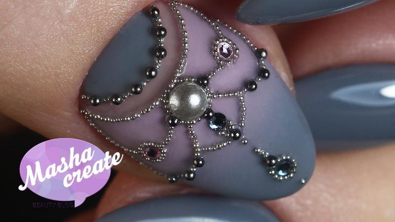 Маникюр со стразами на гель лак Новый клей для страз от Global Fashion Дизайн ногтей Царь ноготь