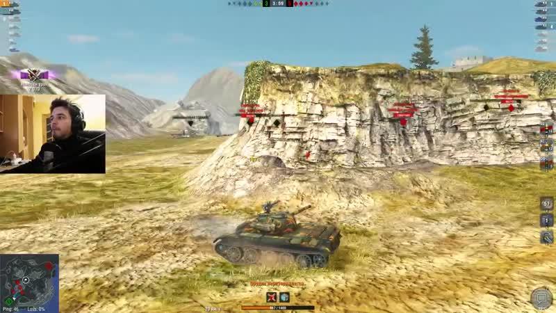 [Glafi.com] WoT Blitz -Три боя на Т 34 2. Правильный деструктор - World of Tanks Blitz (WoTB)