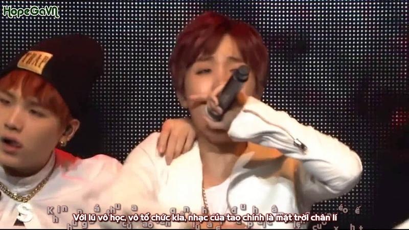 [HopeGaVN] [Vietsub] Cypher PT 3 KILLER Ft. Supreme Boi - BTS LIVE TRILOGY EP 2 THE RED BULLET