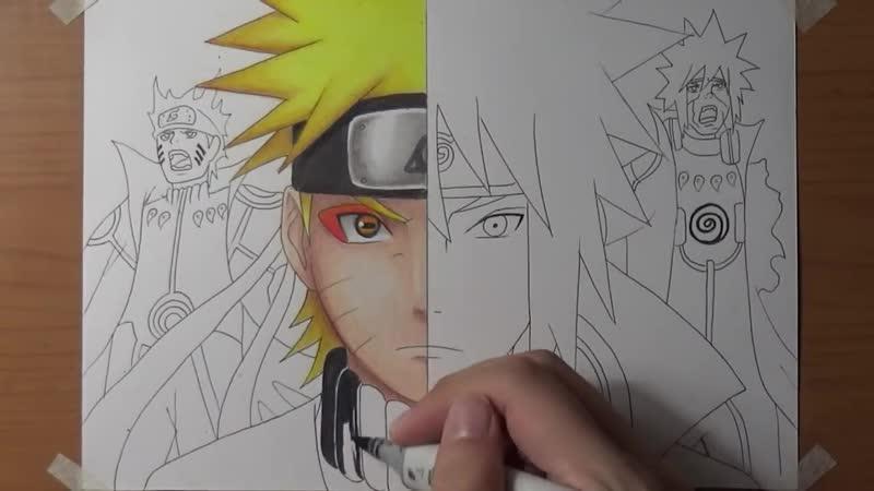 Speed_Drawing_-_Naruto_X_Minato_Uzumaki's_Bijuu_Mode_(Naruto_Shippuden)_[HD].mp4