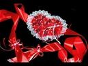 Бант на выписку из роддома сердце из роз