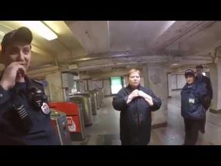 ВОКЗАЛ ЯРОСЛАВСКИЙ / МОСКВА / МЕТРО / 1 МАЯ / ВЫШЕЛ НА СВОБОДУ