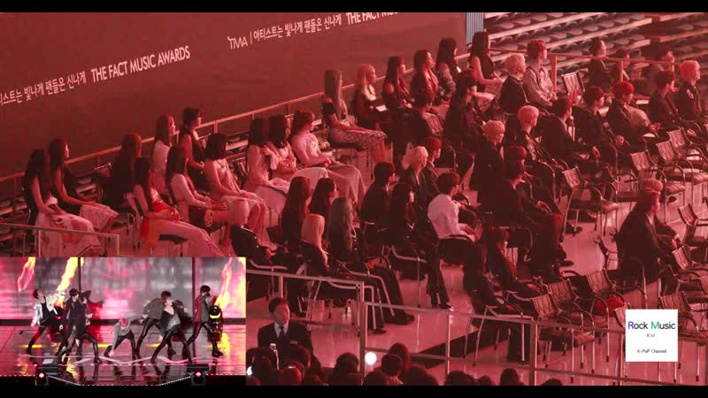 [VK][24.04.2019] Twice, Girlfriend, The Boys, Momoland REACTION To MONSTA X - Shoot Out