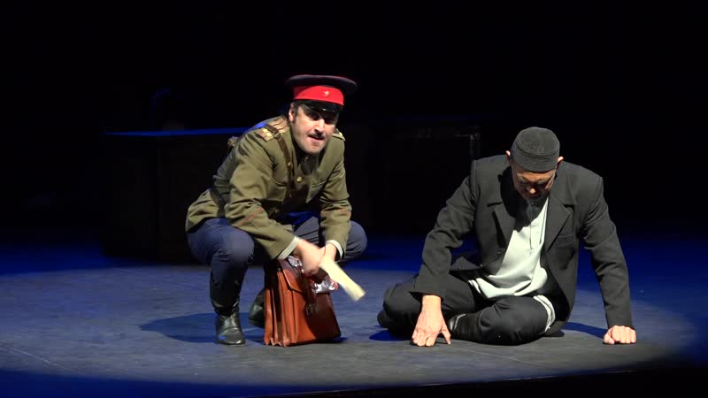 отрывок из Спектакля Ашкадар (М.Бурангулов, режиссёр Зиннур Сулейманов)