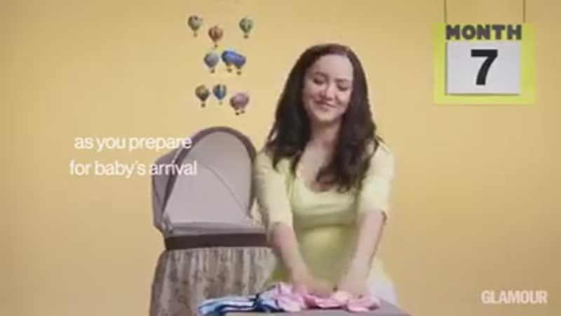 Вся беременность за 2 минуты