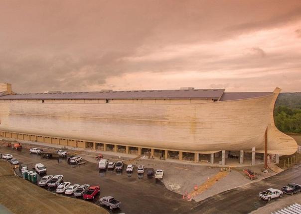 Построен Ноев ковчег в натуральную величину - самое большое деревянное судно в мире