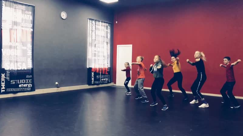 HIP-HOP / KRUMP 12 в DRIVE DANCE studio