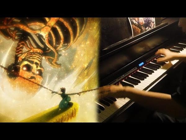 Shingeki no Kyojin 3 EP 7, 9,10 OST -HISTORIA SAVES EREN (Piano Orchestral Cover) [DRAMATIC]