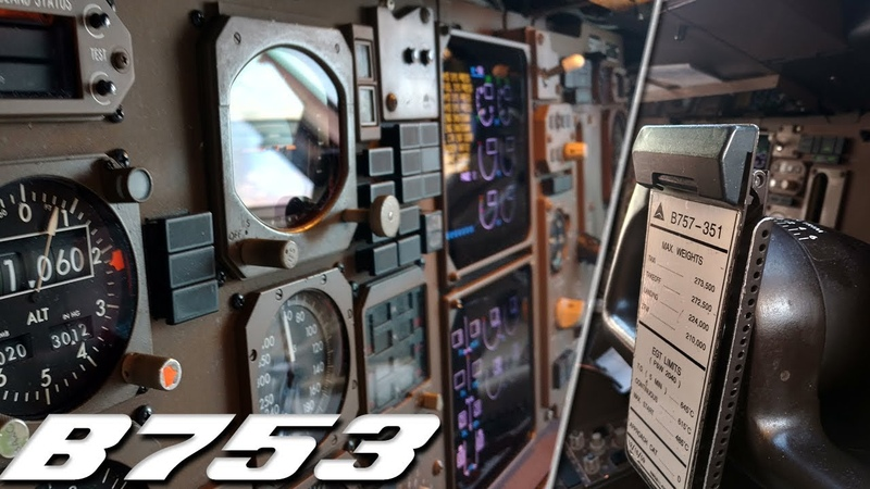 Boeing 757-300 Cockpit Tour! (Delta Airlines)