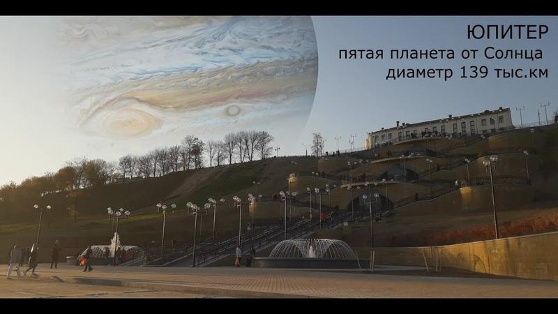 ПЛАНЕТЫ СОЛНЕЧНОЙ СИСТЕМЫ НА МЕСТЕ ЛУНЫPLANETS OF THE SOLAR SYSTEM ON THE PLACE OF THE MOON