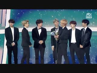 [050119] BTS win 2019 Global VLIVE Top 10 Best Artist @ 33rd Golden Disc Awards