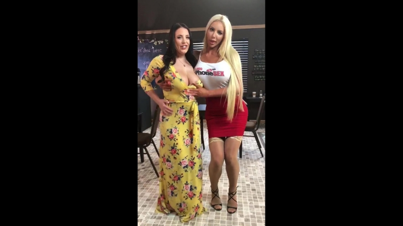 We are so excited to work with each other today again for Brazzers with ANGELAWHITE Nicolette Shea