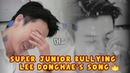 SUPER JUNIOR BULLYING LEE DONGHAE'S SONG