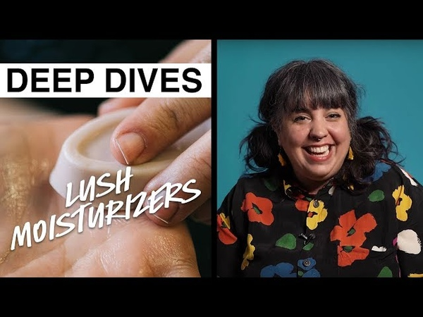 Lush Deep Dives Moisturizers