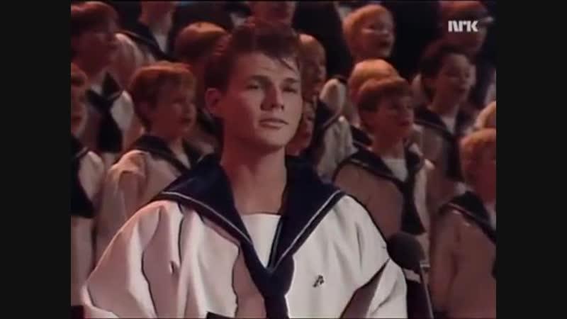 Morten Harket og Solvguttene — Mitt Hjerte Alltid Vanker [NRK, 26.12.1987]