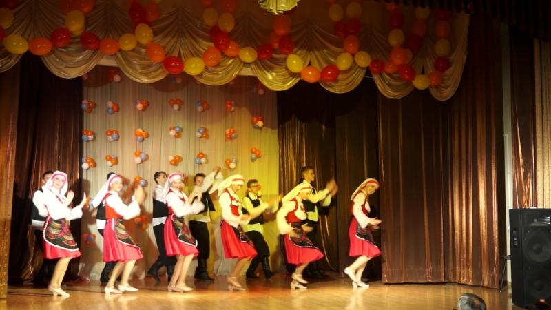 Еврейский танец. День Учителя 2018 год