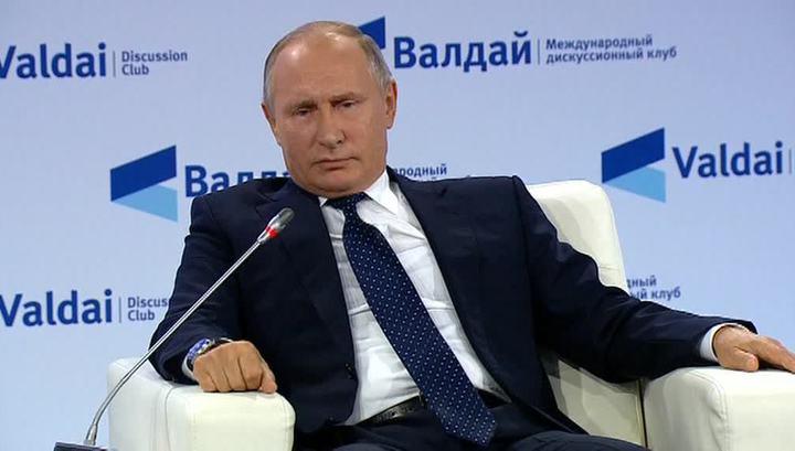 Вести.Ru: Путин о ядерной агрессии: мы как мученики попадем в рай, а они просто сдохнут
