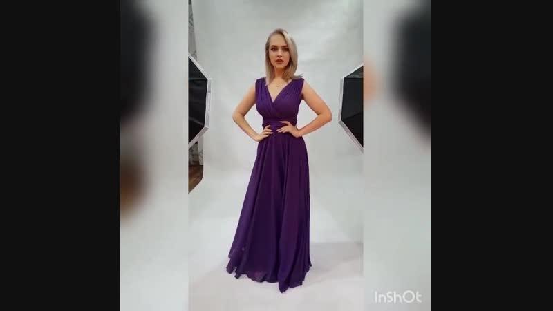 43-48 вечернее платье