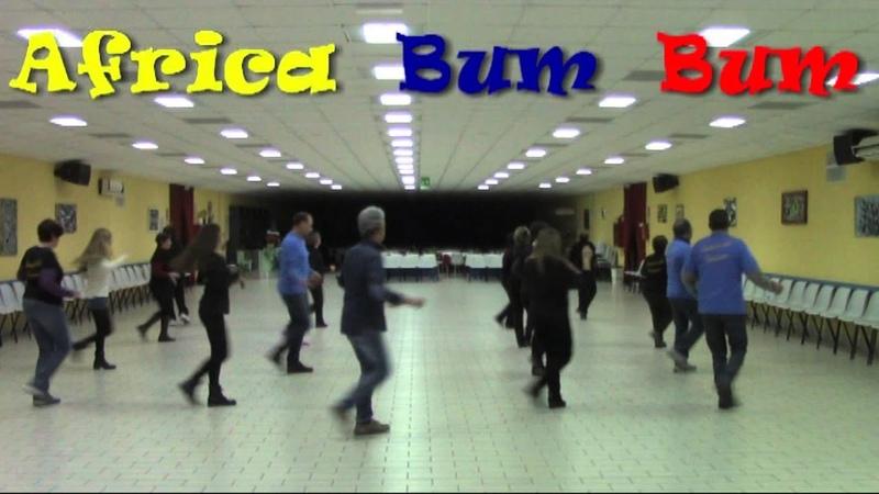 Africa Bum Bum (Coreo Tonino Galifi) LINE DANCE - Ballo di Gruppo