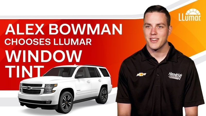 Alex Bowman Chooses LLumar Window Tint