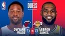 Historic Final Duel in LA LeBron vs Wade December 10, 2018 NBANews NBA Lakers LebronJames Heat DwyaneWade