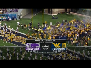 NCAAF 2018 / Week 04 / Kansas State Wildcats - (12) West Virginia Mountaineers / EN