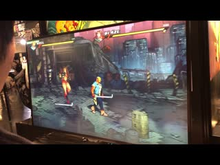 Streets of rage 4 ⁄ bare knuckle iv  ⁄ 怒之鐵拳4  ⁄ 格鬥三人組4 - bitsummit 2019 demo play 試玩影片