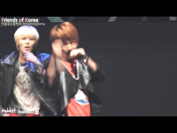 [FULL FANCAM] 111015 SHINee Onew - Ring Ding Dong @ Fr!3nds 0f K0r3a