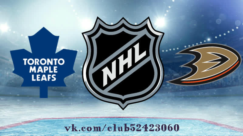 Toronto Maple Leafs vs Anaheim Ducks | 16.11.2018 | NHL Regular Season 2018-2019