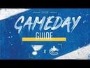 NHL 19 PS4. REGULAR SEASON 2018-2019: Vancouver CANUCKS VS St. Louis BLUES. 12.09.2018. (NBCSN) !