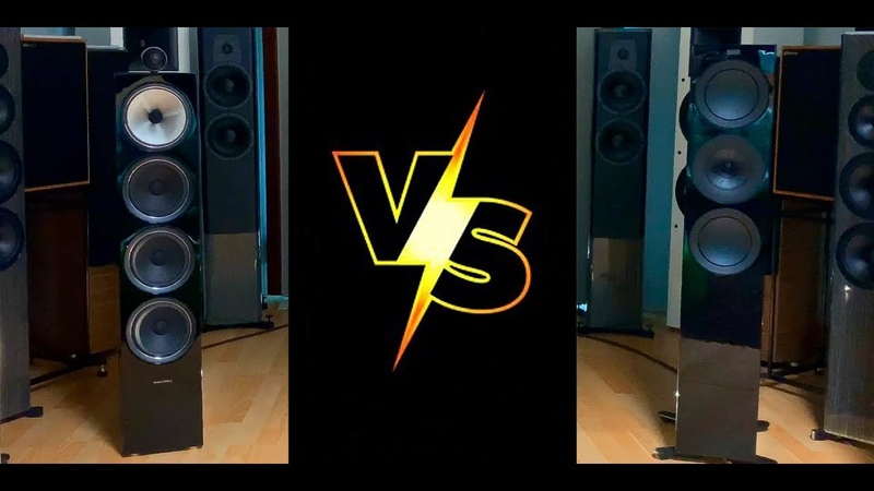 SOUND BATTLE BW 702 S2 vs KEF R7 (4K HD Audio) And the winner is?